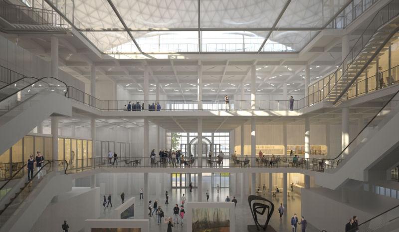 Nový pavilon D a revitalizace pavilonu C, BVV